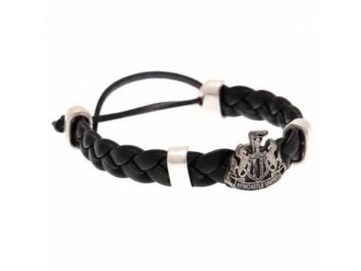 Newcastle armbånd - NUFC PU Slider Bracelet