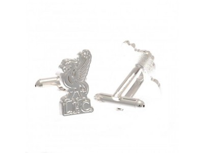 Liverpool manchetknapper - LFC Silver Plated Formed Cufflinks LB