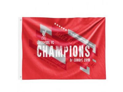 Liverpool flag - LFC Champions Of Europe Flag