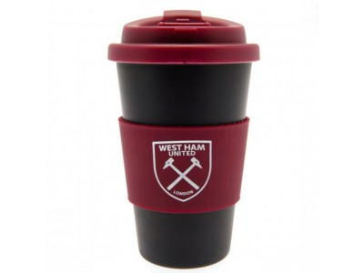 West Ham United krus - WHFC Silicone Grip Travel Mug