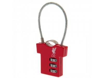 Liverpool hængelås - LFC Combination Padlock