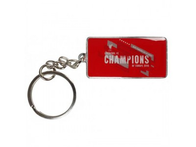 Liverpool nøglering - LFC Champions Of Europe Keyring