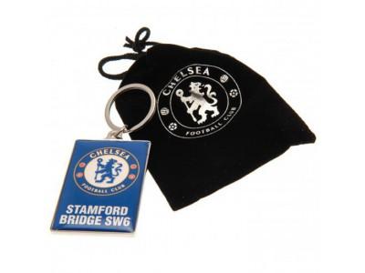 Chelsea nøglering - CFC Deluxe Keyring