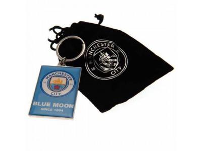Manchester City nøglering - MCFC Deluxe Keyring
