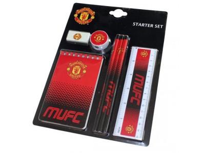 Manchester United skrivesæt - MU Starter Stationery Set