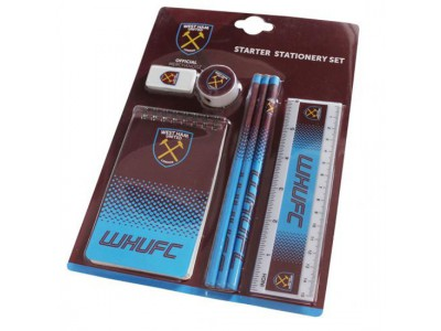 West Ham skrivesæt - WHFC Starter Stationery Set