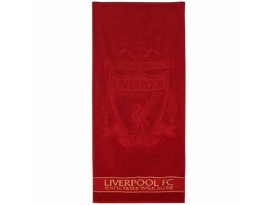 Liverpool håndklæde - LFC Embossed Jacquard Towel