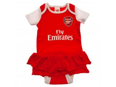 Arsenal baby kjole - AFC Tutu 6/9 Months
