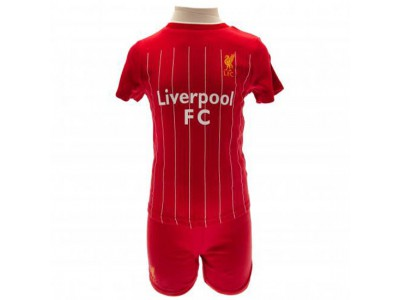 Liverpool sæt baby - LFC Shirt & Short Set 9/12 Months PS