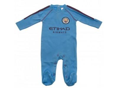 Manchester City sovedragt - Sleepsuit 6/9 Months PL