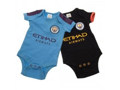 Manchester City - 2 Pack Bodysuit 6/9 Months PL