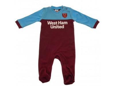 West Ham United sovedragt - WHUFC Sleepsuit 0/3 Months ST