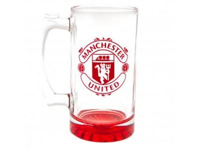 Manchester United glas - MUFC Stein Glass Tankard CC