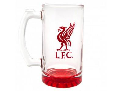 Liverpool glas - LFC Stein Glass Tankard CC