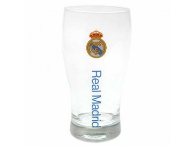 Real Madrid pint glas - RMFC Tulip Pint Glass