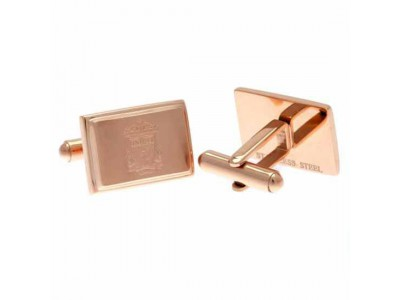 Liverpool manchetknapper - LFC Rose Gold Plated Cufflinks