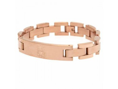 Liverpool armbånd - LFC Rose Gold Plated Bracelet