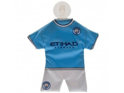 Manchester City minisæt til rude - MCFC Mini Kit