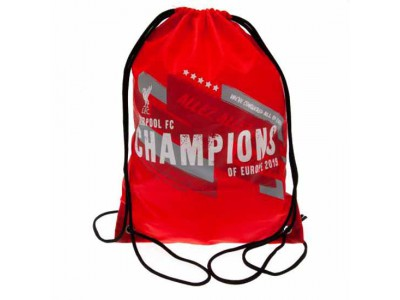 Liverpool gymnastiknet - LFC Champions of Europe Gym Bag