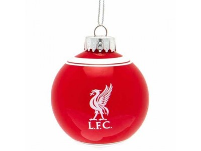 Liverpool julepynt - LFC Glass Bauble