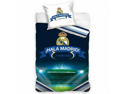 Real Madrid sengetøj - RMFC Single Duvet Set HM