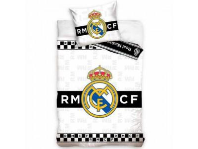 Real Madrid sengetøj - RMFC Single Duvet Set BW