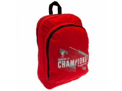 Liverpool rygsæk - LFC Champions of Europe Backpack