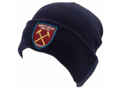 West Ham United hue - WHFC Knitted Hat TU