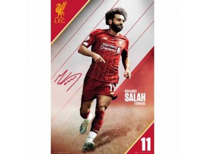 Liverpool plakat Salah - LFC Poster Salah 6