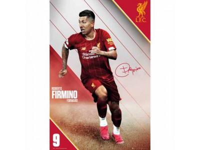 Liverpool plakat - LFC Poster Firmino 7