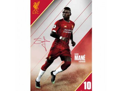 Liverpool plakat - LFC Poster Mane 11