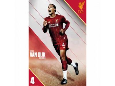 Liverpool plakat Van Dijk - LFC Poster Van Dijk 15