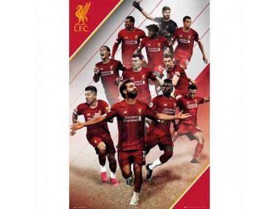 Liverpool plakat spillere - LFC Poster Players 18