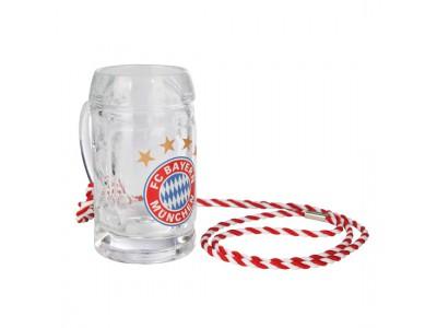 FC Bayern Munchen snaps krus - Schnapps Mug Logo