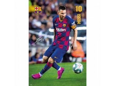 FC Barcelona plakat - Barca Poster Messi 1