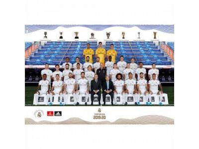 Real Madrid plakat hold foto - RMFC Poster Squad 22