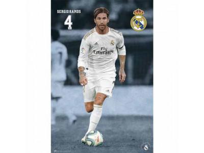 Real Madrid plakat Sergio Ramos - RMFC Poster Ramos 23
