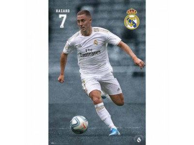 Real Madrid plakat - RMFC Poster Hazard 24