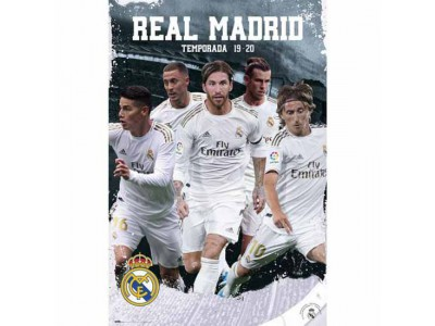 Real Madrid plakat - RMFC Poster Players 25