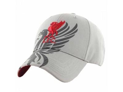 Liverpool kasket grå - LFC cap obsedian grey