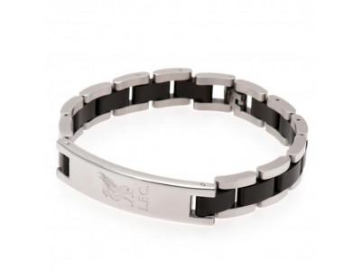 Liverpool FC armbånd - Black Inlay Bracelet