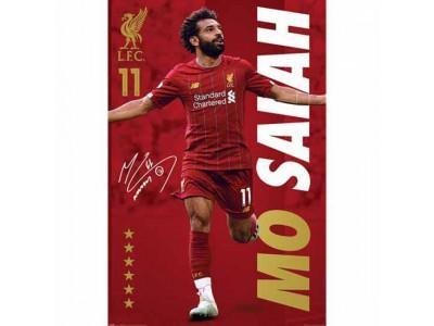 Liverpool plakat - LFC Poster Salah 8