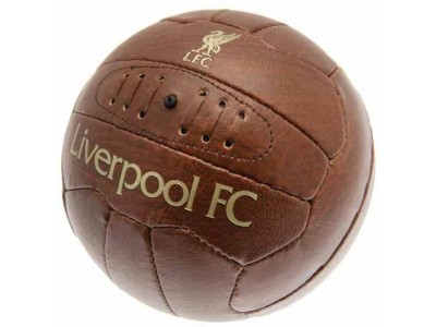 Liverpool fodbold - LFC Faux Leather Football - str. 5