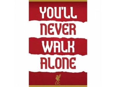 Liverpool plakat - LFC Poster YNWA 32