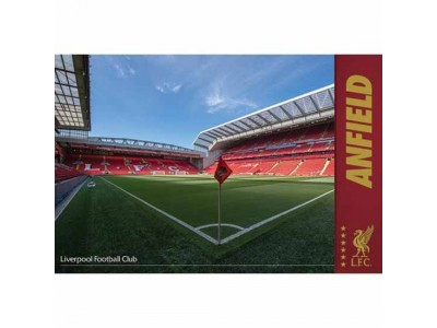 Liverpool plakat - LFC Poster Anfield 33