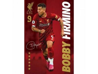 Liverpool plakat - LFC Poster Firmino 35