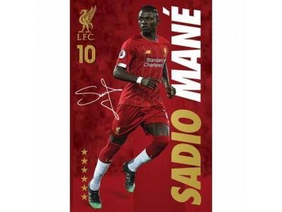 Liverpool plakat - LFC Poster Mane 36