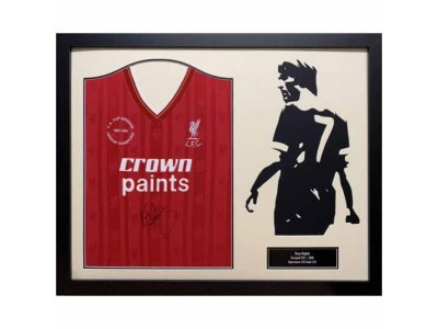 Liverpool trøje Dalglish Signed Shirt Silhouette