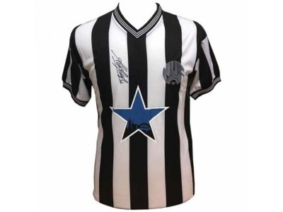 Newcastle United trøje NUFC Keegan Signed Shirt