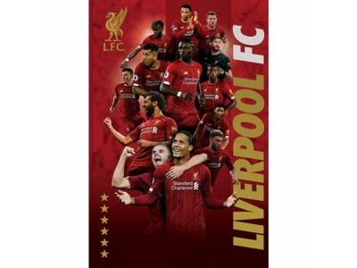 Liverpool plakat spillere - LFC Poster Players - 38